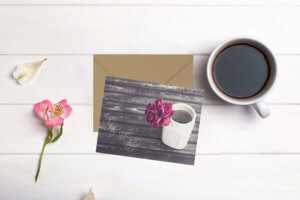 kjdewaal_enjoy_the_simple_things_flat_notecard