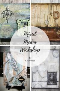 Mixed Media Art Workshop Example Image-2