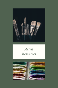 Artist Resources Home Page Image